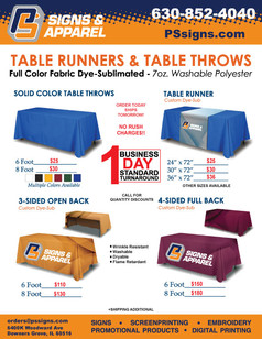 Table Runners & Throws