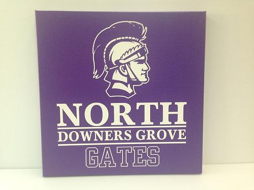 DGN Personalized Canvas - Purple