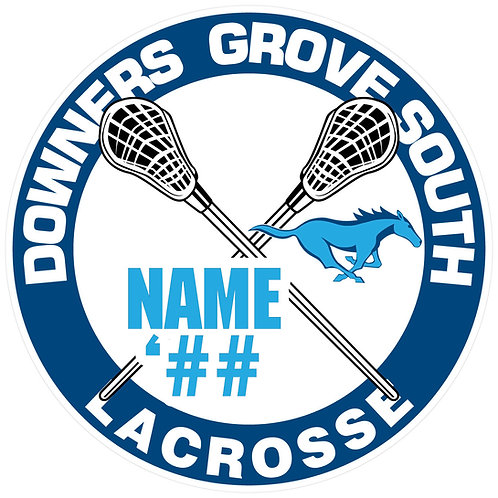DGS Lacrosse Yard Sign
