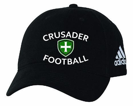 SJS Adidas Football Hat - Black