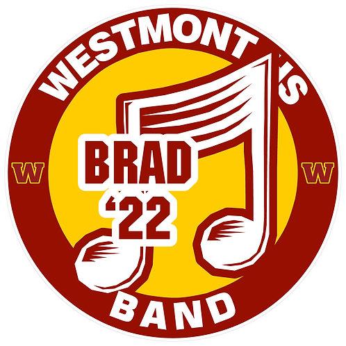 WHS Band Yard Sign
