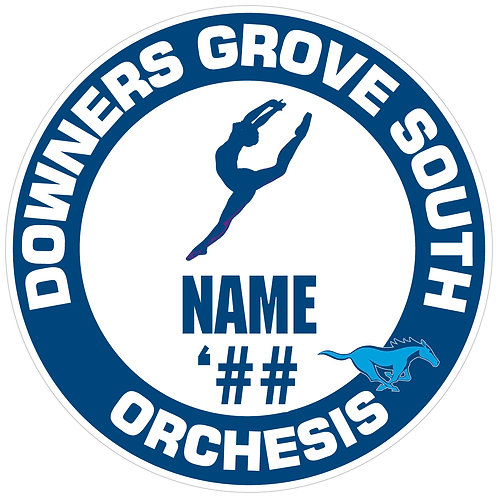 DGS Orchesis Sticker