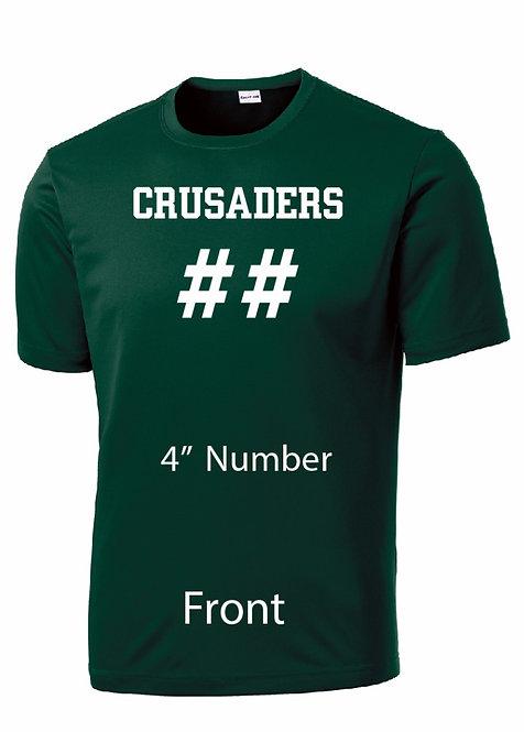 SJS Performance Short Sleeve Shirt - Name & Number