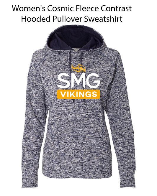 SMG Women's Heathered Vikings Sweatshirt