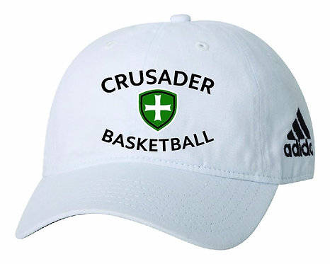 SJS Adidas Basketball Hat - White