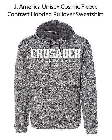 SJS Heathered Volleyball Sweatshirt