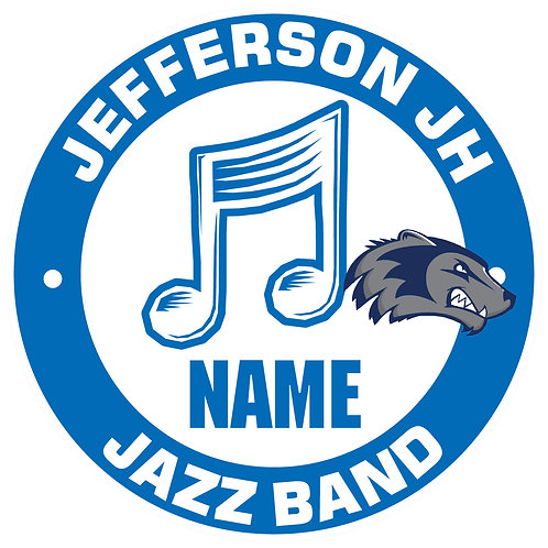 Jefferson Jazz Band Yard Sign