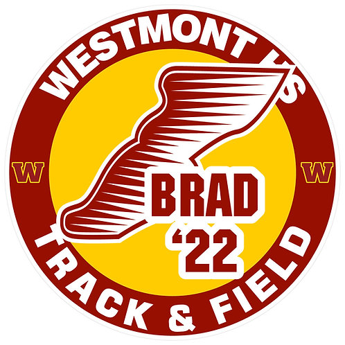 WHS Track & Field Yard Sign