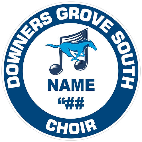 DGS Choir Sticker