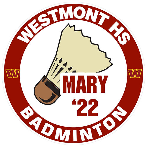 WHS Badminton Yard Sign
