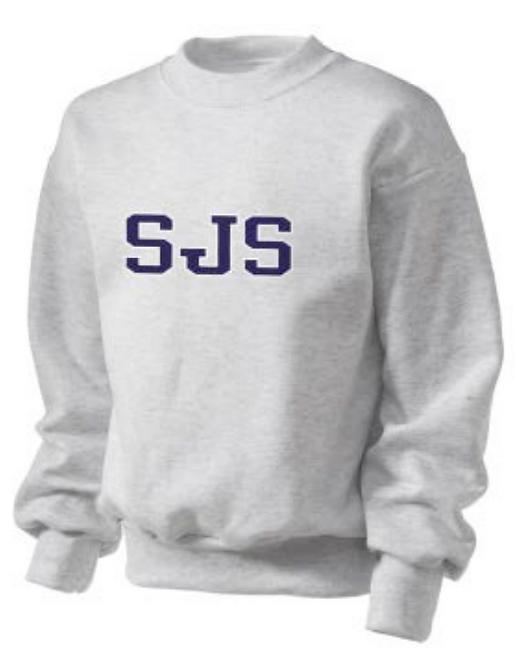 SJS Grey Sweatshirt