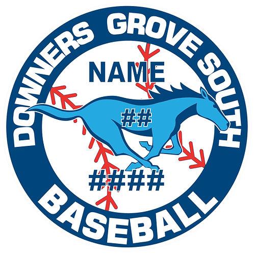 DGS Baseball Sticker