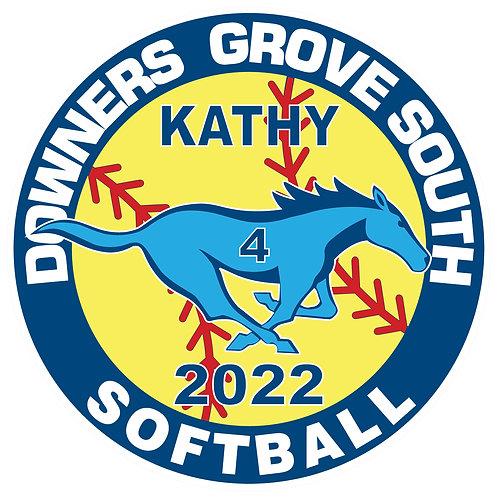 DGS Softball Yard Sign