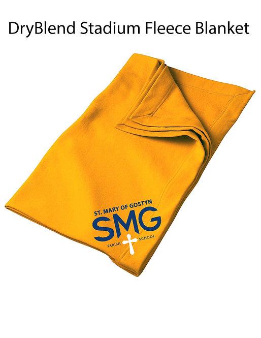 SMG Stadium Blanket - Gold