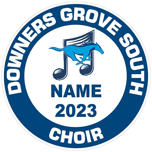 DGS Choir Yard Sign