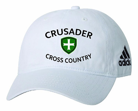SJS Adidas Cross Country Hat - White