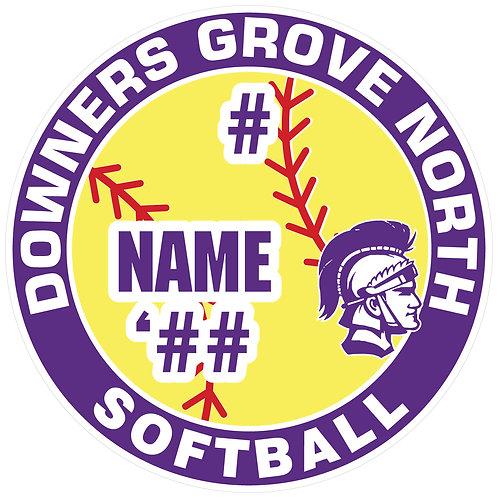 DGN Softball Yard Sign