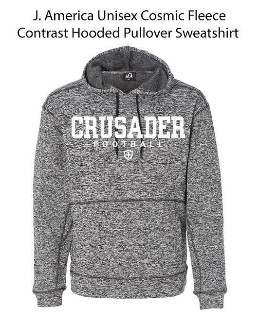SJS Heathered Football Sweatshirt