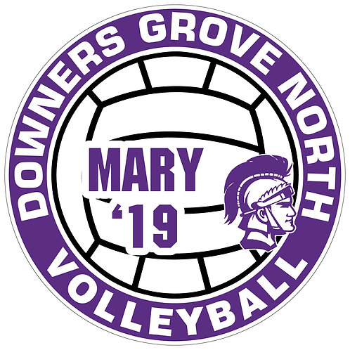 DGN Volleyball Yard Sign