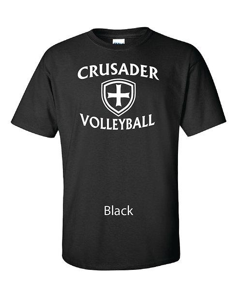 SJS Volleyball Shirt - Black
