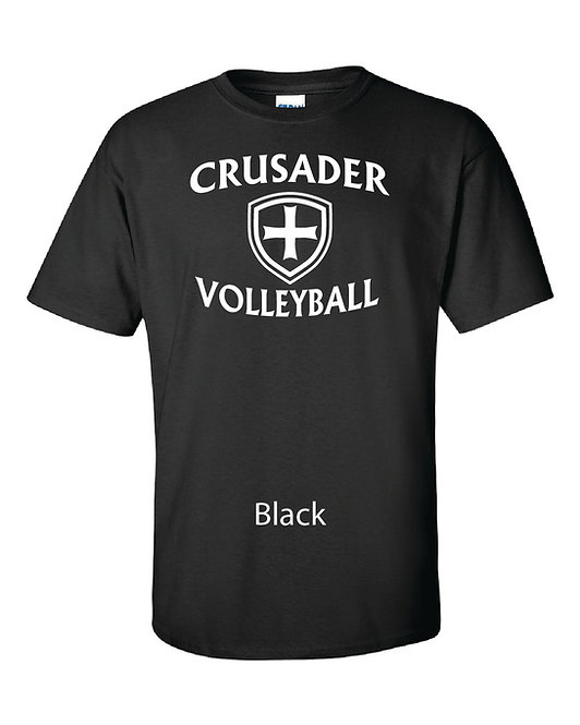 SJS Volleyball Shirt - Black