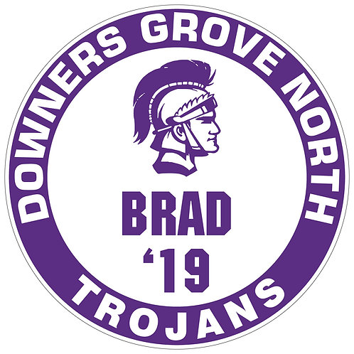 DGN Trojans Yard Sign