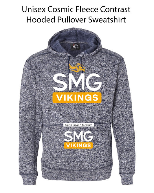SMG Heathered Vikings Sweatshirt