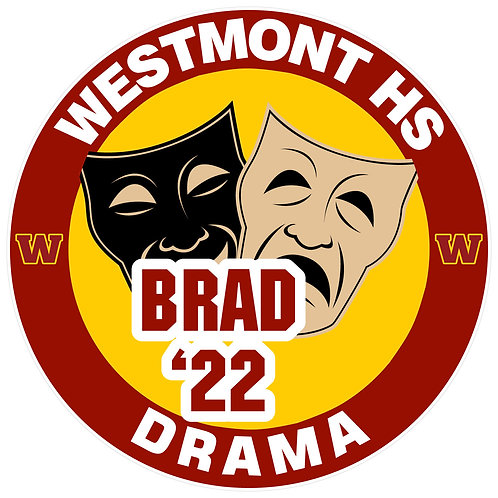 WHS Drama Yard Sign