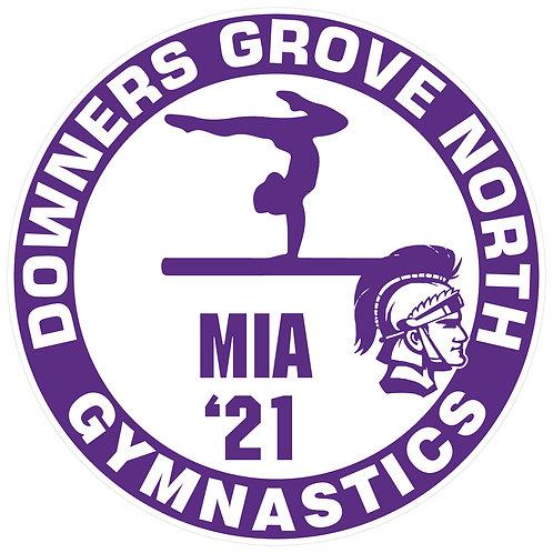 DGN Girls Gymnastics Yard Sign