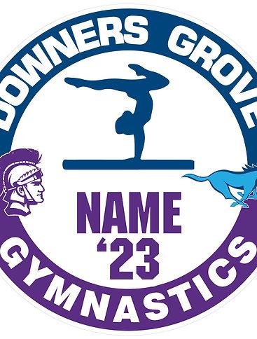 DGS/DGN Gymnastics Yard Sign