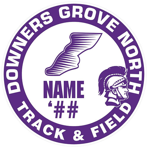 DGN Track & Field Yard Sign