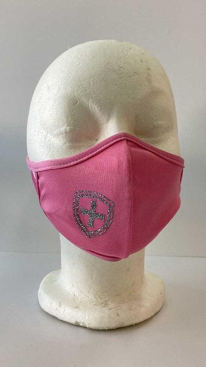 SJS Pink Glitter Mask
