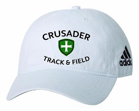 SJS Adidas Track Hat - White