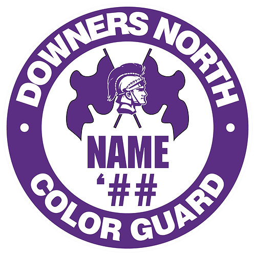 DGN Color Guard Yard Sign