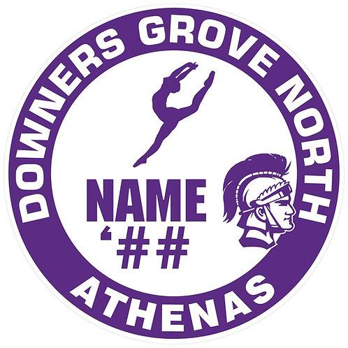 DGN Athenas Sticker