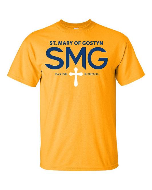 SMG T-Shirt - Gold