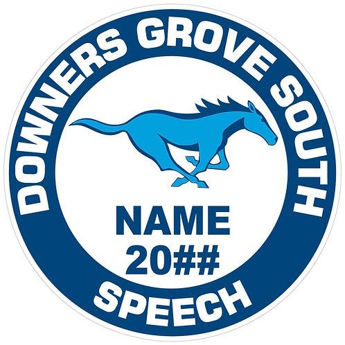 DGS Speech Yard Sign
