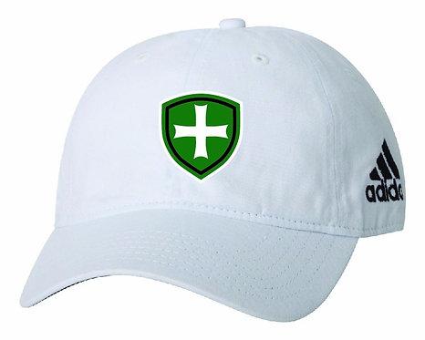 SJS Adidas Shield Hat - White