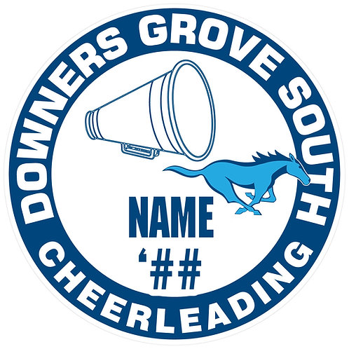 DGS Cheerleading Sticker
