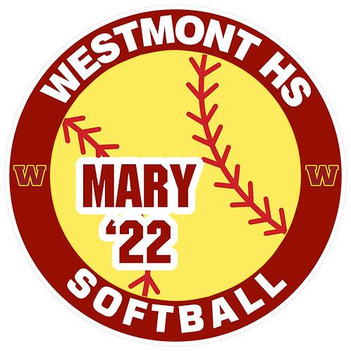 WHS Softball Yard Sign