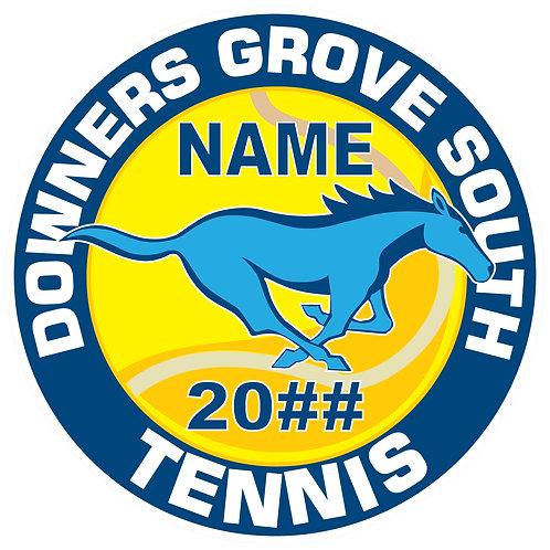 DGS Tennis Sticker