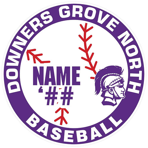 DGN Baseball Yard Sign