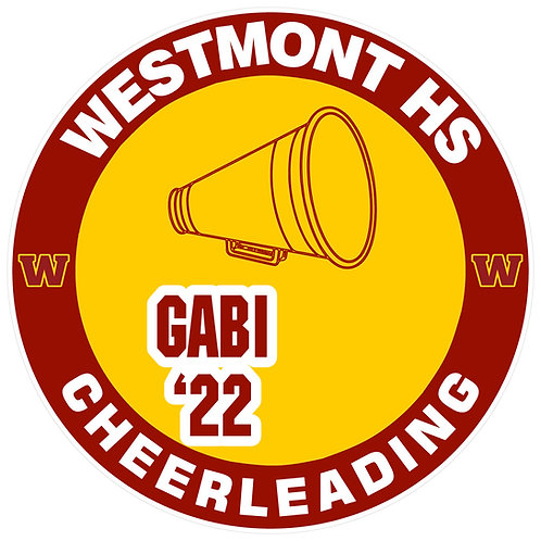 WHS Cheerleading Yard Sign