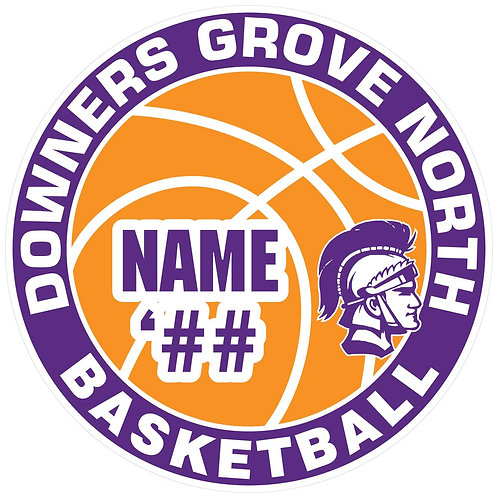 DGN Basketball Sticker