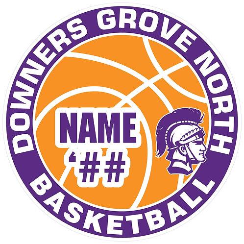 DGN Basketball Yard Sign