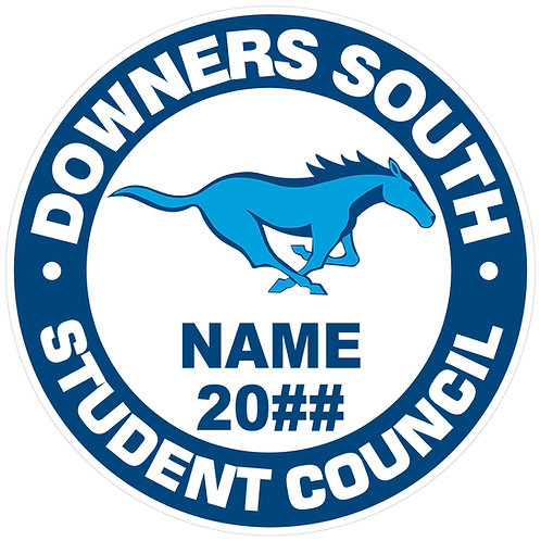 DGS Student Council Sticker