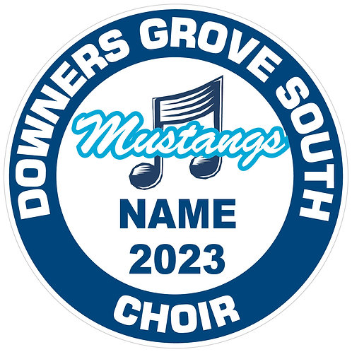 "DGS Choir ""Mustangs"" Yard Sign"