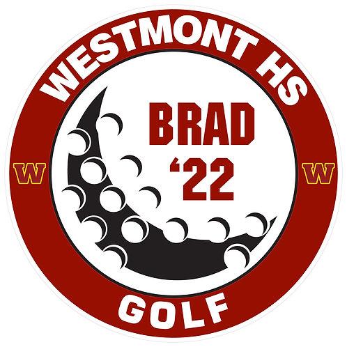 WHS Golf Yard Sign