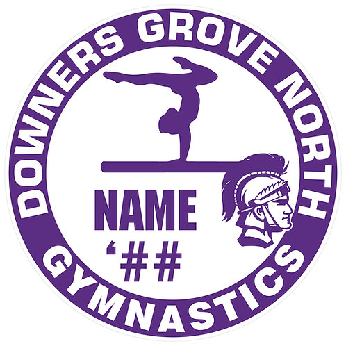 DGN Women's Gymnastics Sticker
