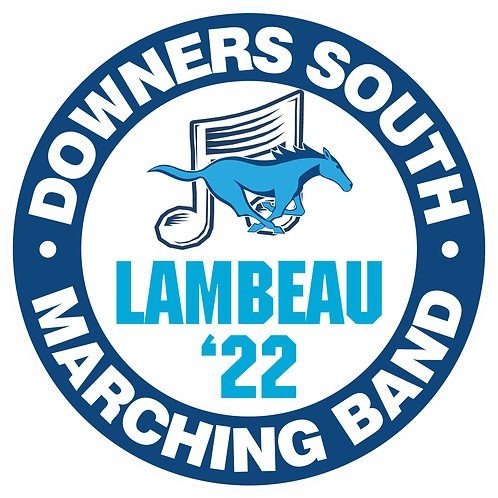 DGS Marching Band Yard Sign